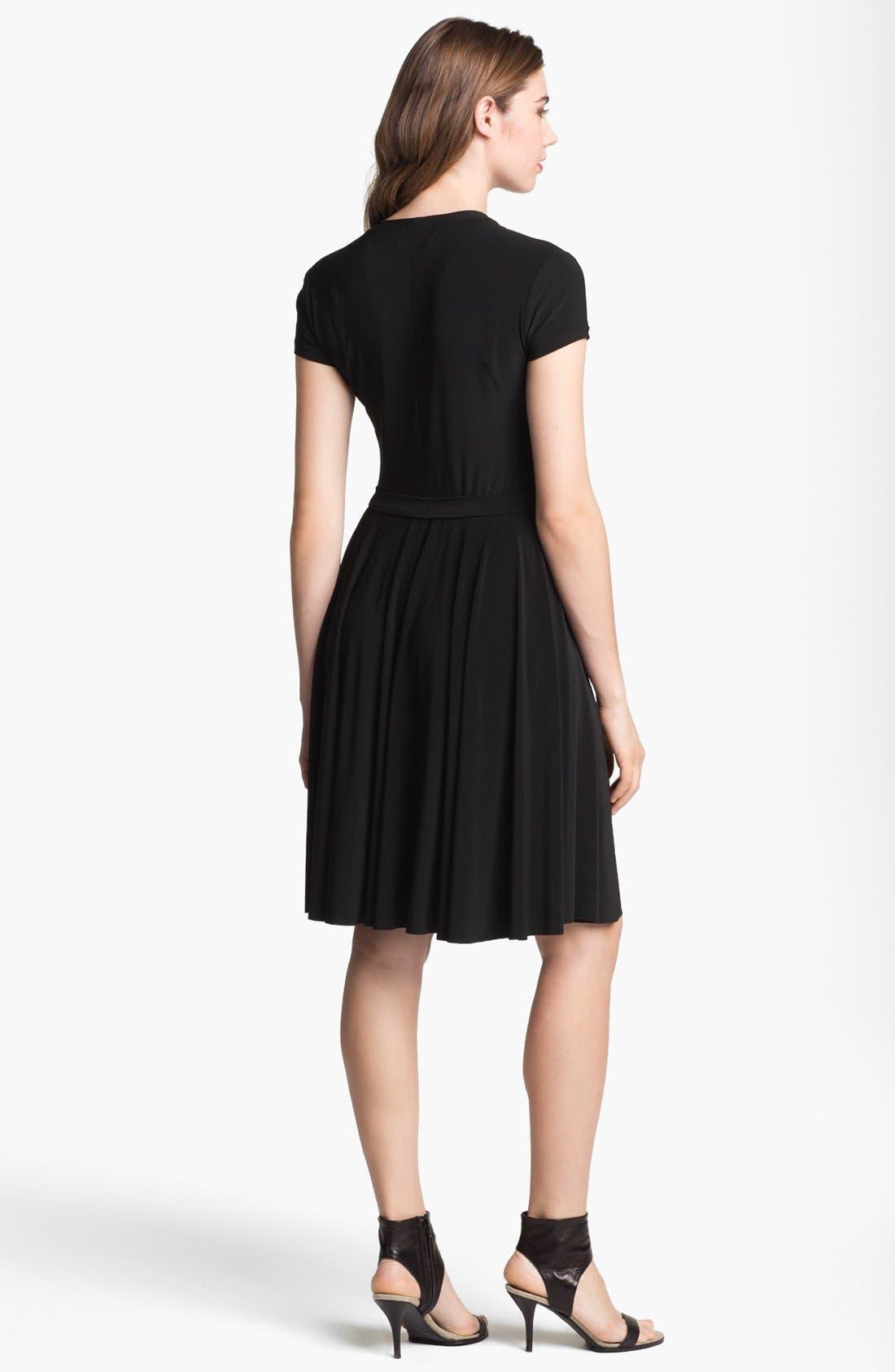 Alternate Image 2  - KAMALIKULTURE Jersey Fit & Flare Dress
