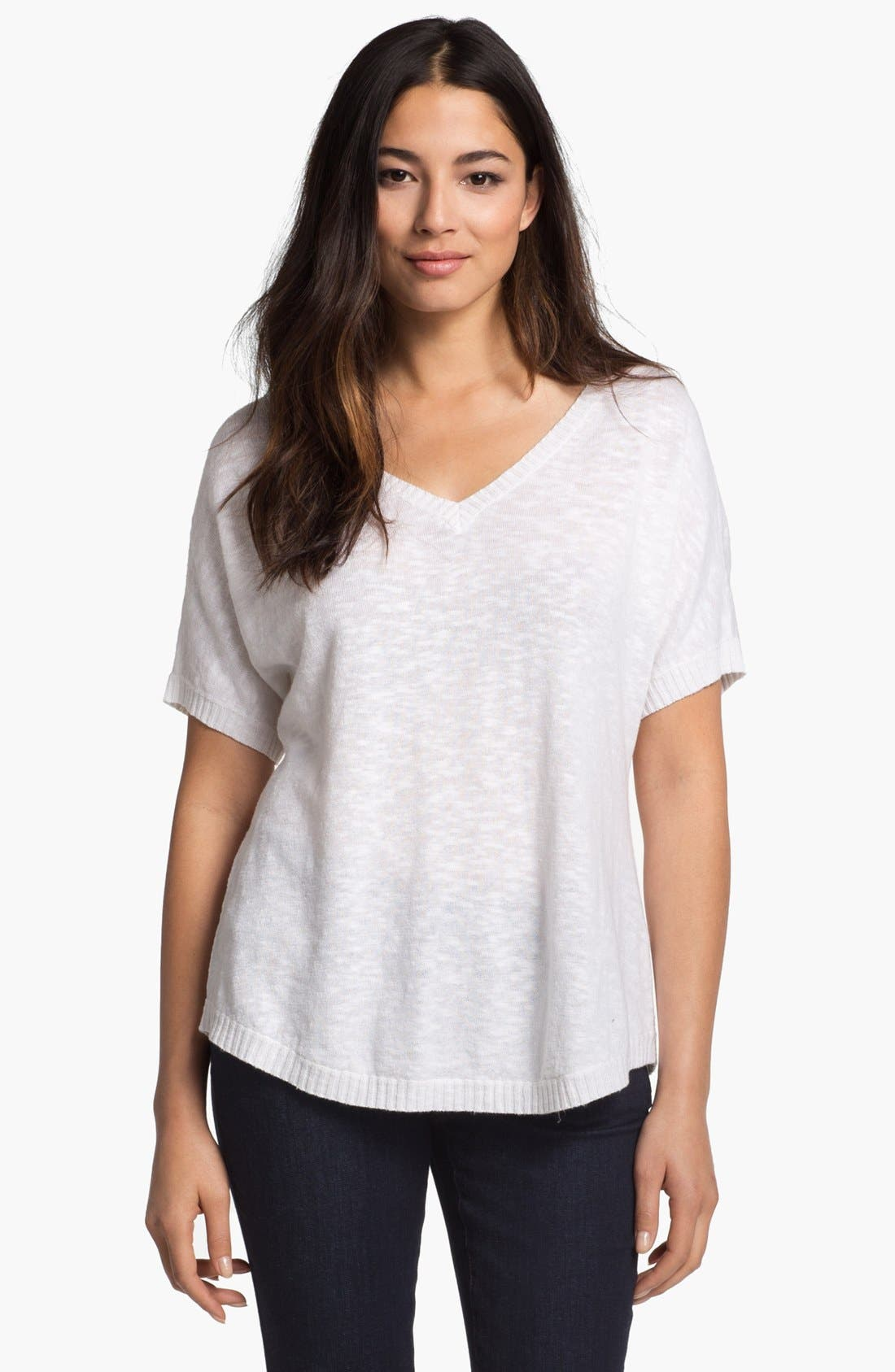 Main Image - Eileen Fisher V-Neck Top