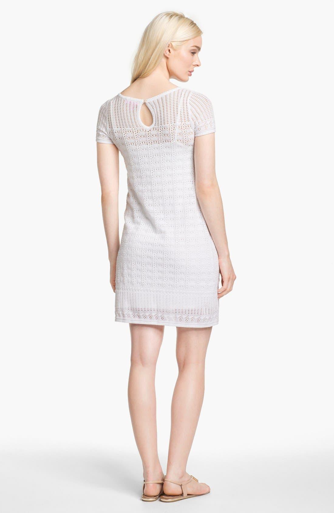 Alternate Image 2  - Lilly Pulitzer® 'Paula' Crochet Sweater Shift Dress
