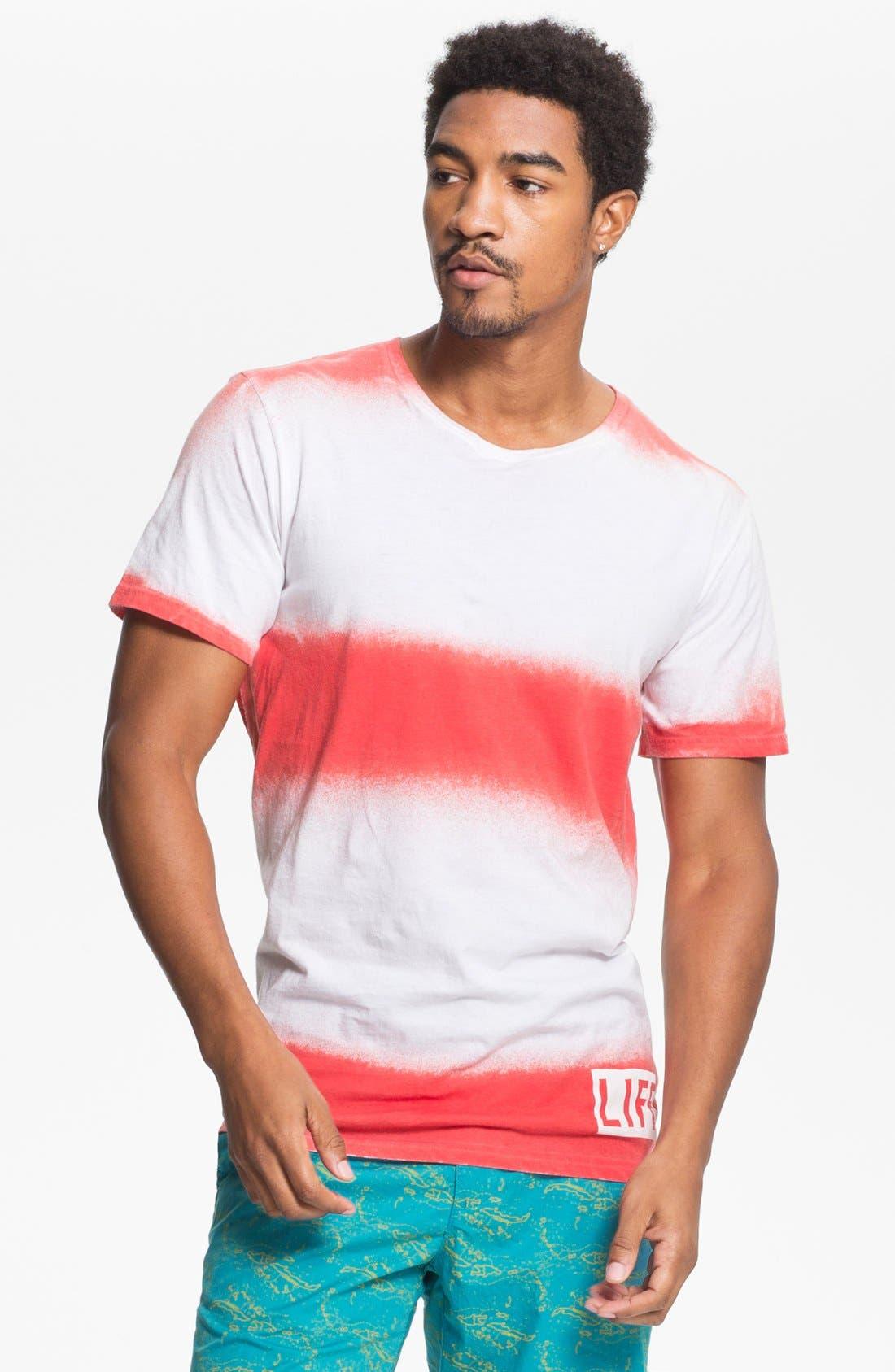 Alternate Image 1 Selected - Altru 'Life®' Dip Dye T-Shirt