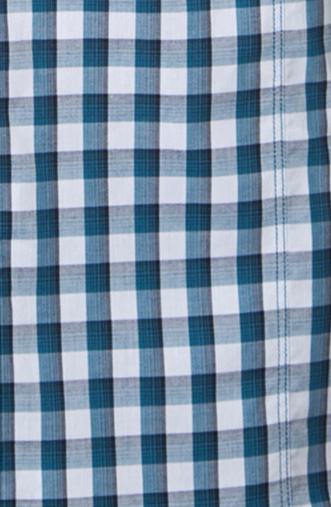 Alternate Image 2  - 7 Diamonds 'I Will Wait' Gingham Sport Shirt