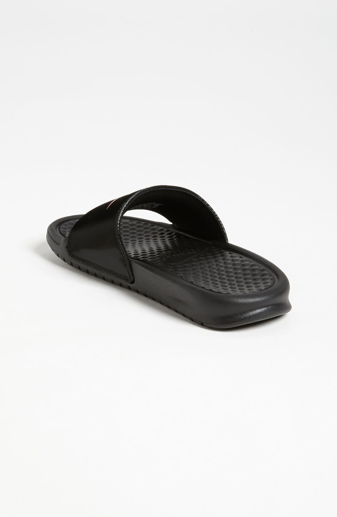 Alternate Image 2  - Nike 'Benassi' Slide Sandal (Toddler, Little Kid & Big Kid)