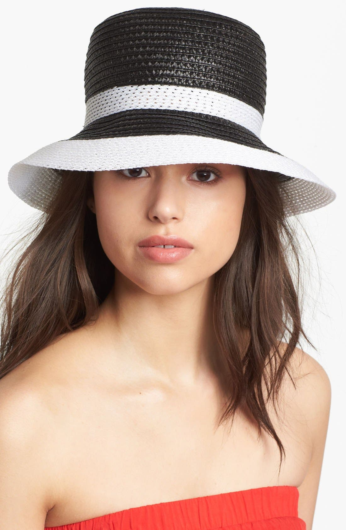 Alternate Image 1 Selected - Nordstrom Down Brim Straw Hat