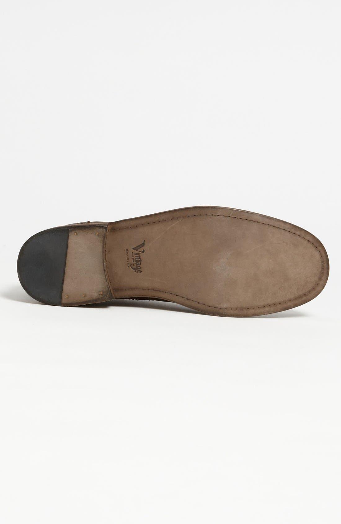 Alternate Image 4  - Vintage Shoe Company 'Warren' Wingtip