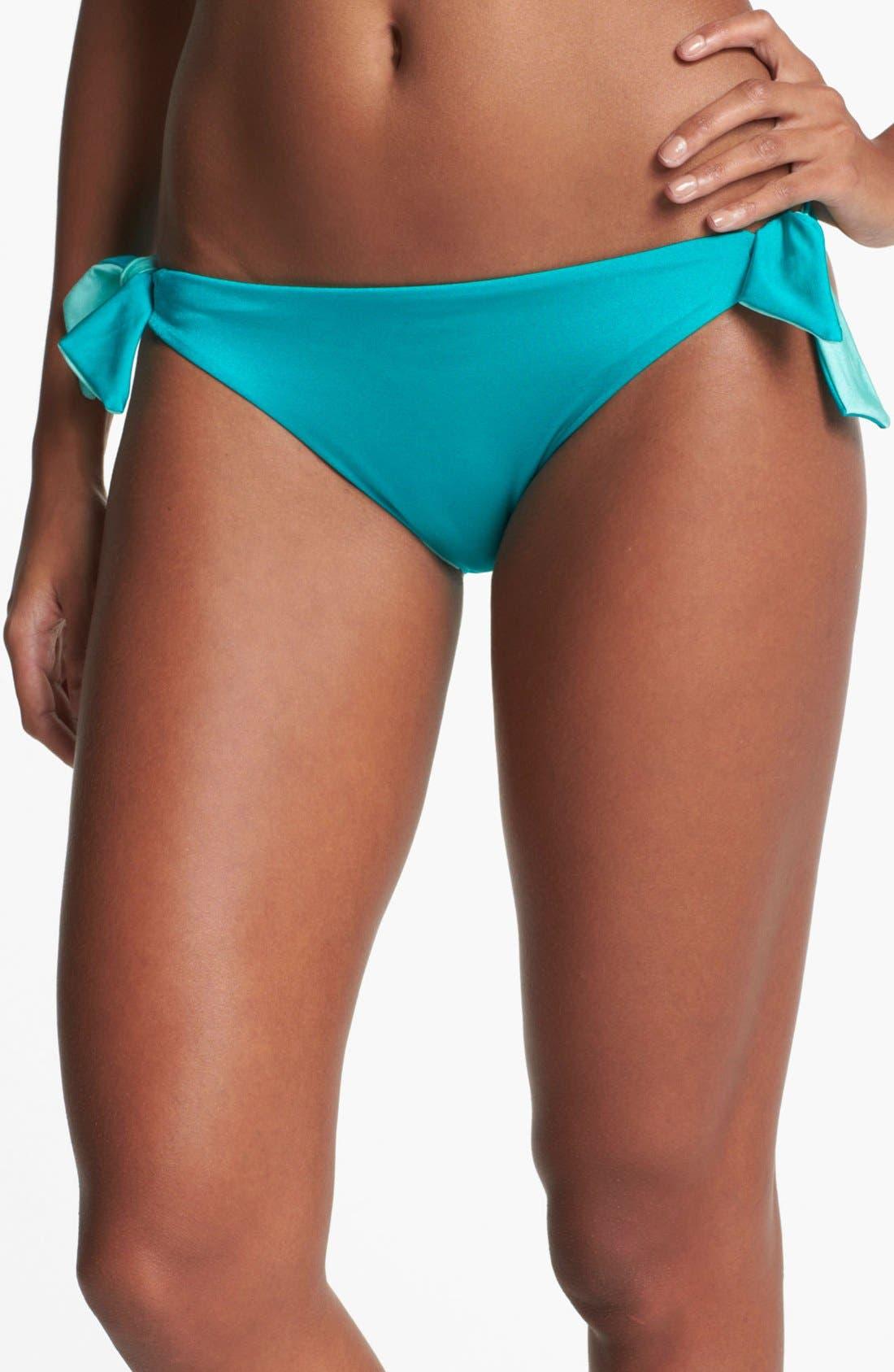 Alternate Image 1 Selected - Vince Camuto Side Tie Bikini Bottoms