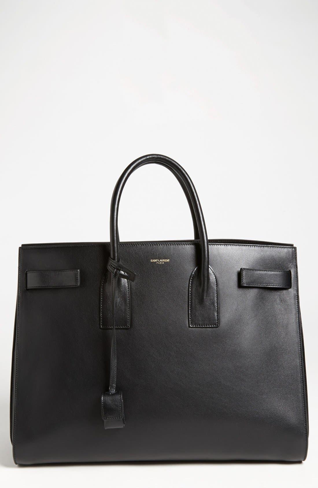 Alternate Image 1 Selected - Saint Laurent 'Sac de Jour' Leather Tote