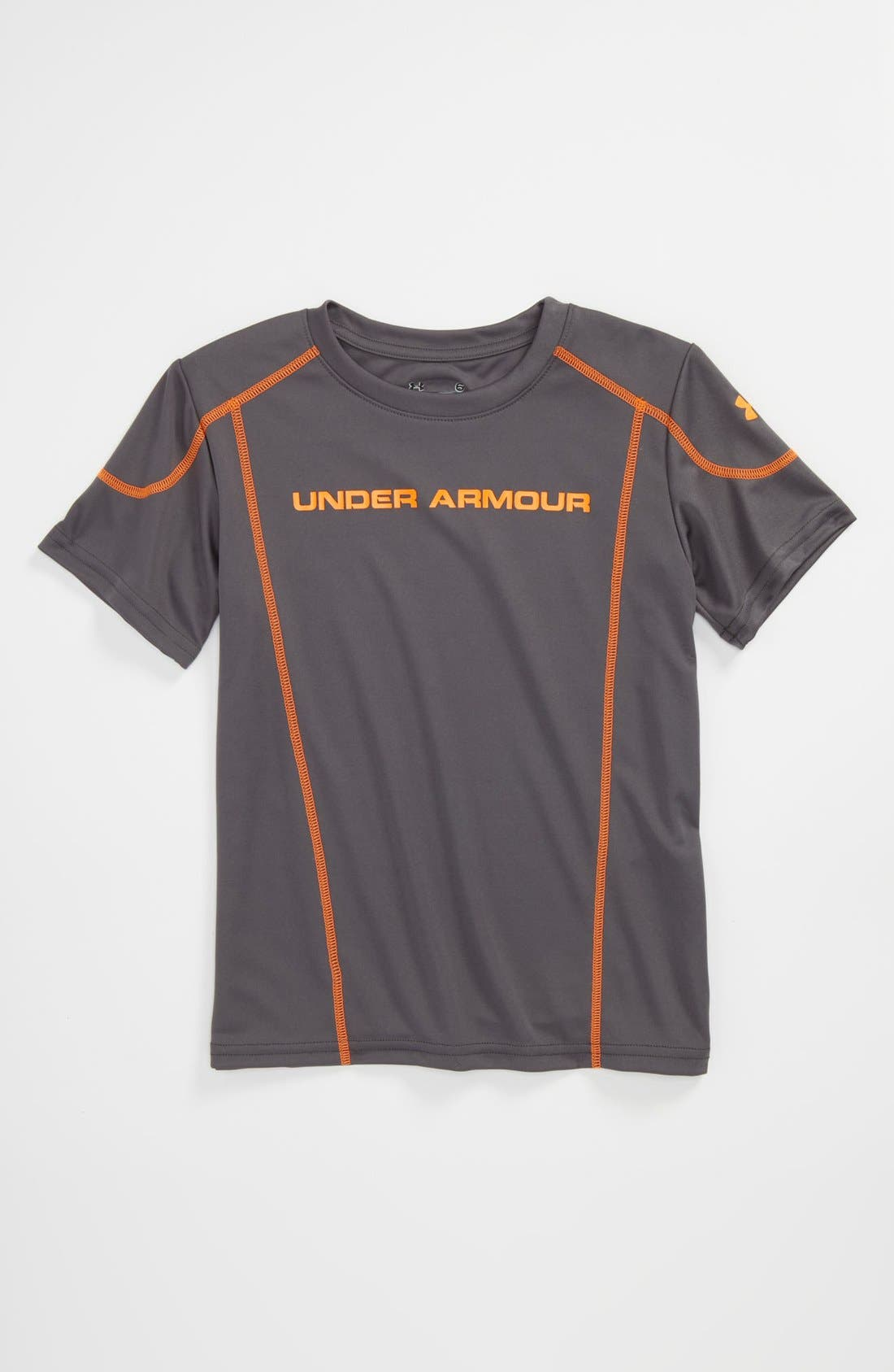 Main Image - Under Armour 'Zero to Sixty 2.0' HeatGear® T-Shirt (Little Boys)