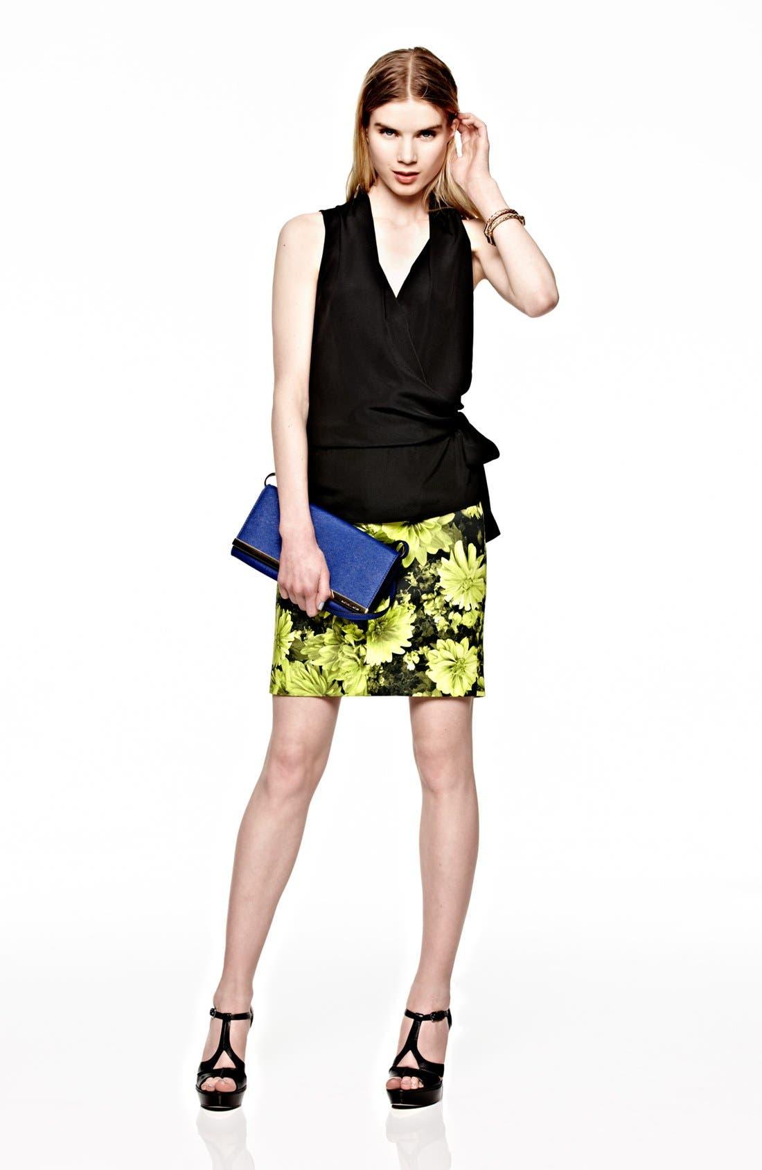 Alternate Image 4  - MICHAEL Michael Kors Floral Pencil Skirt