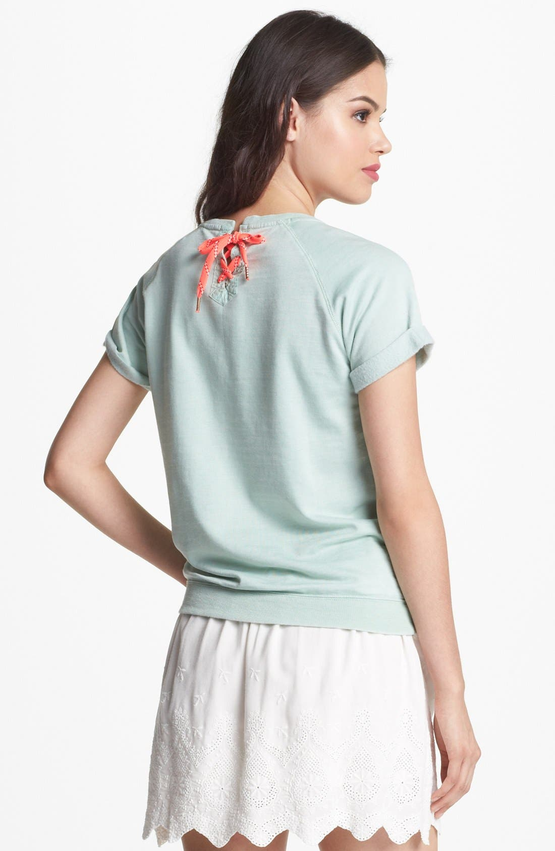 Alternate Image 2  - Maison Scotch 'Surf' Short Sleeve Top