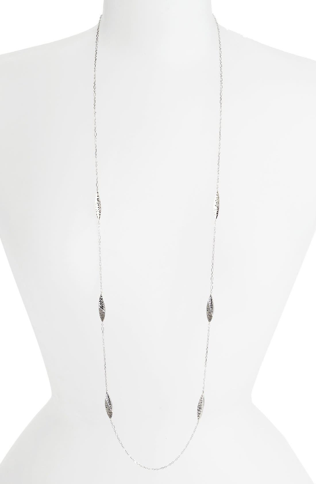Main Image - Judith Jack 'Silver Rain' Extra Long Station Necklace (Nordstrom Exclusive)