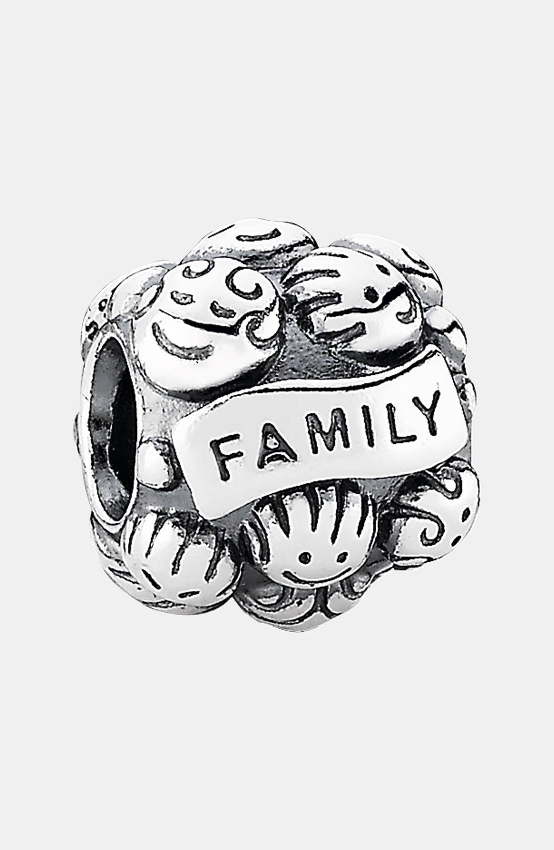 Main Image - PANDORA 'Love & Family' Charm