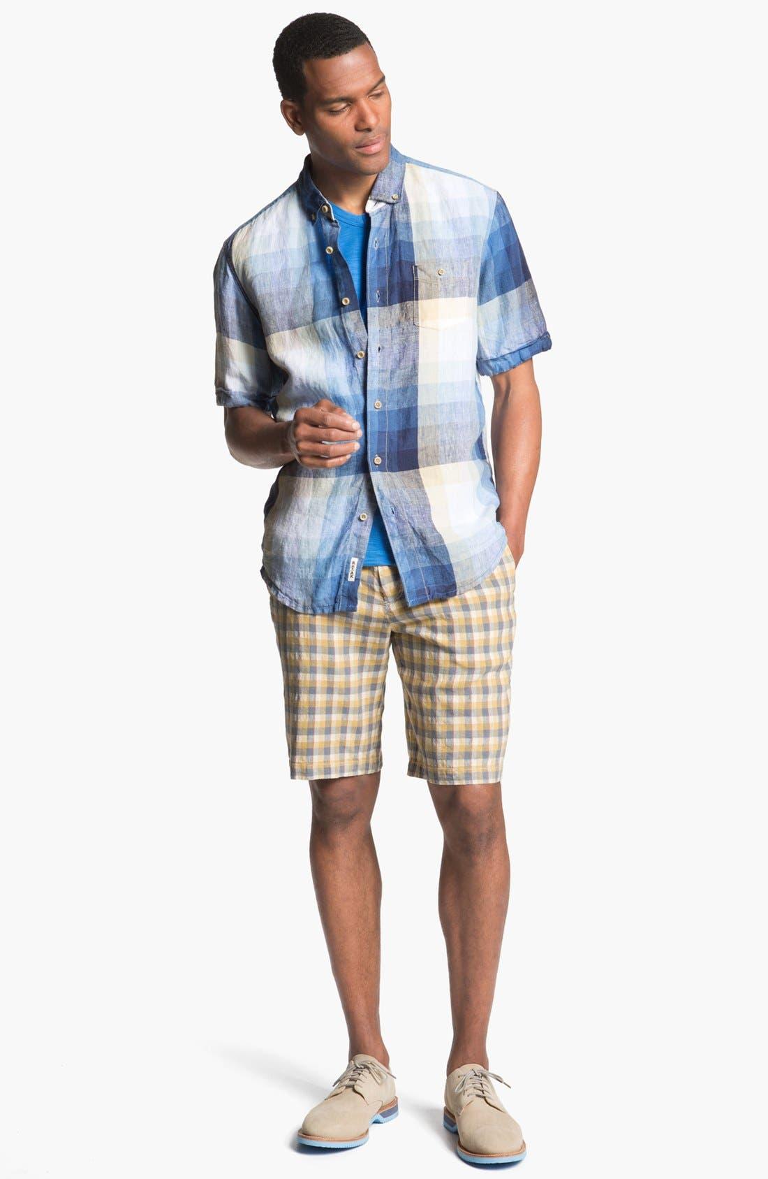 Alternate Image 4  - Tommy Bahama 'Pacific Breezer' Short Sleeve Linen Sport Shirt