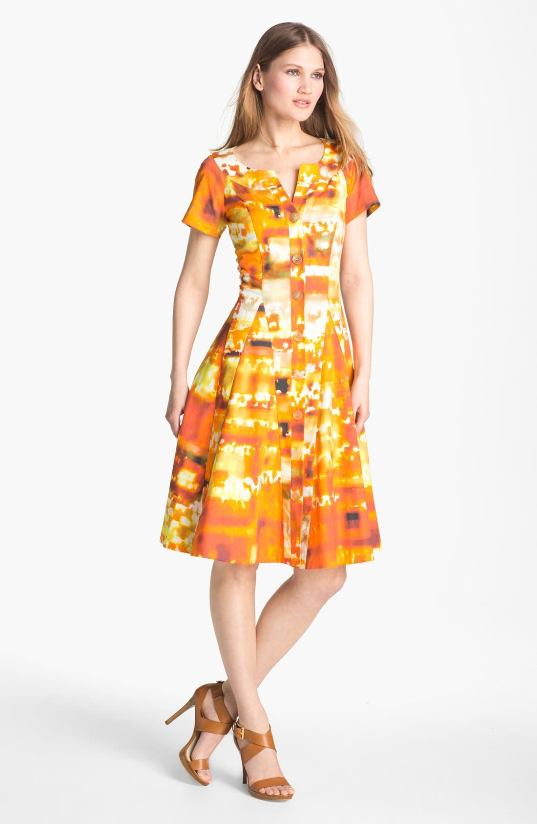 Alternate Image 1 Selected - Lafayette 148 New York 'Carla - Expedition Stretch' Dress