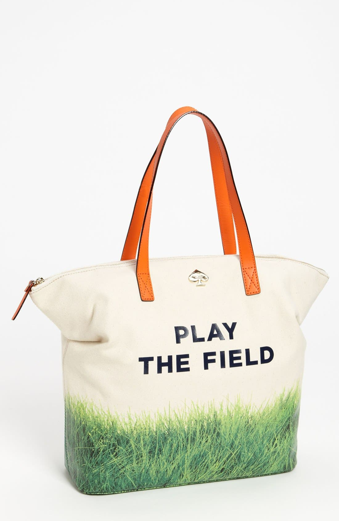 Alternate Image 1 Selected - kate spade new york 'call to action - terry' canvas tote
