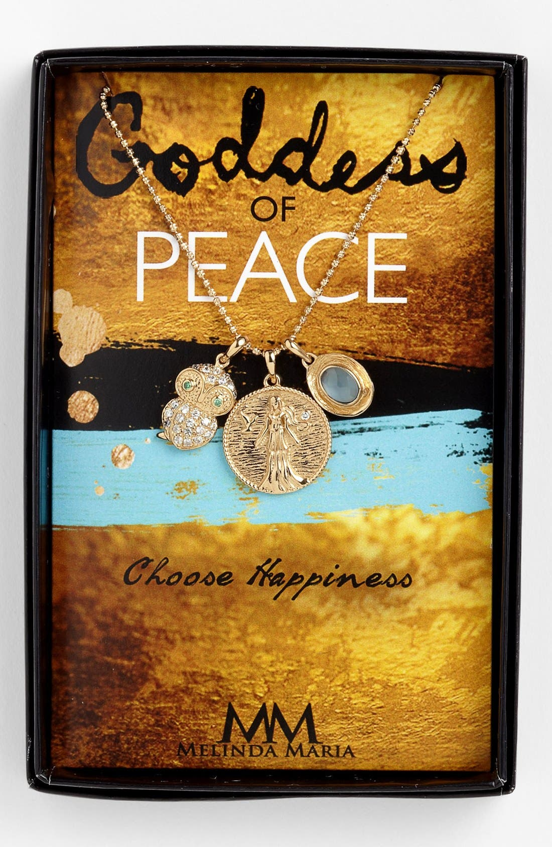 Main Image - Melinda Maria 'Goddess of Peace' Cluster Pendant Necklace