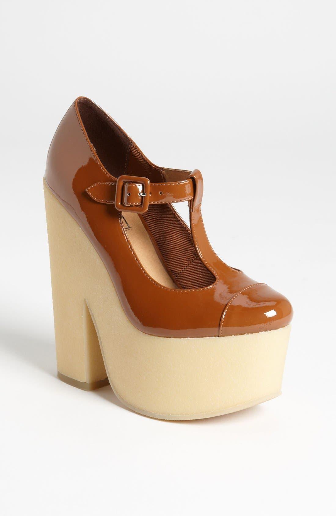 Main Image - Topshop 'Shout' Platform Shoe