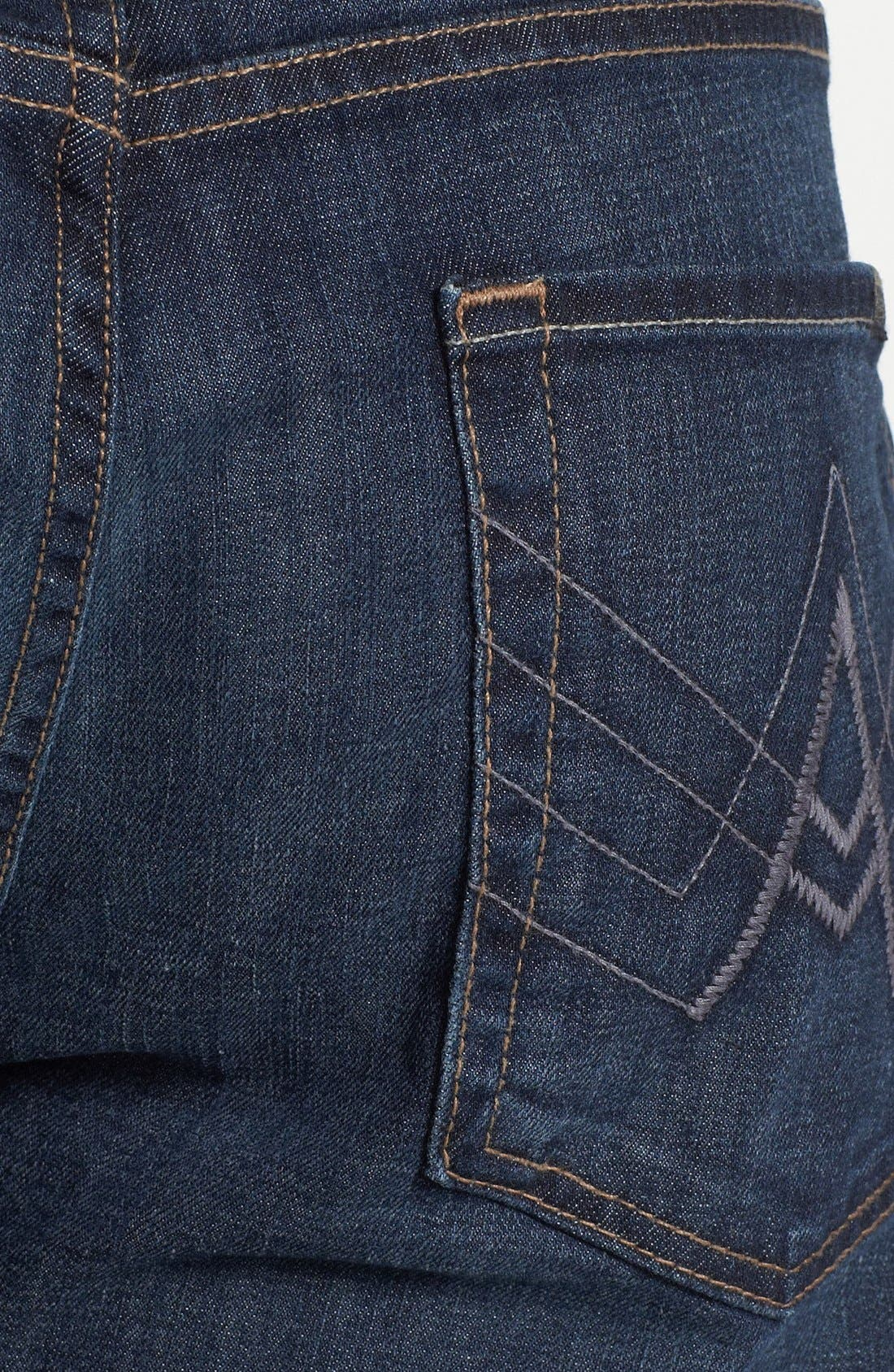 Alternate Image 4  - 7 For All Mankind® 'Brett' Bootcut Jeans (Worn Hawthorne)