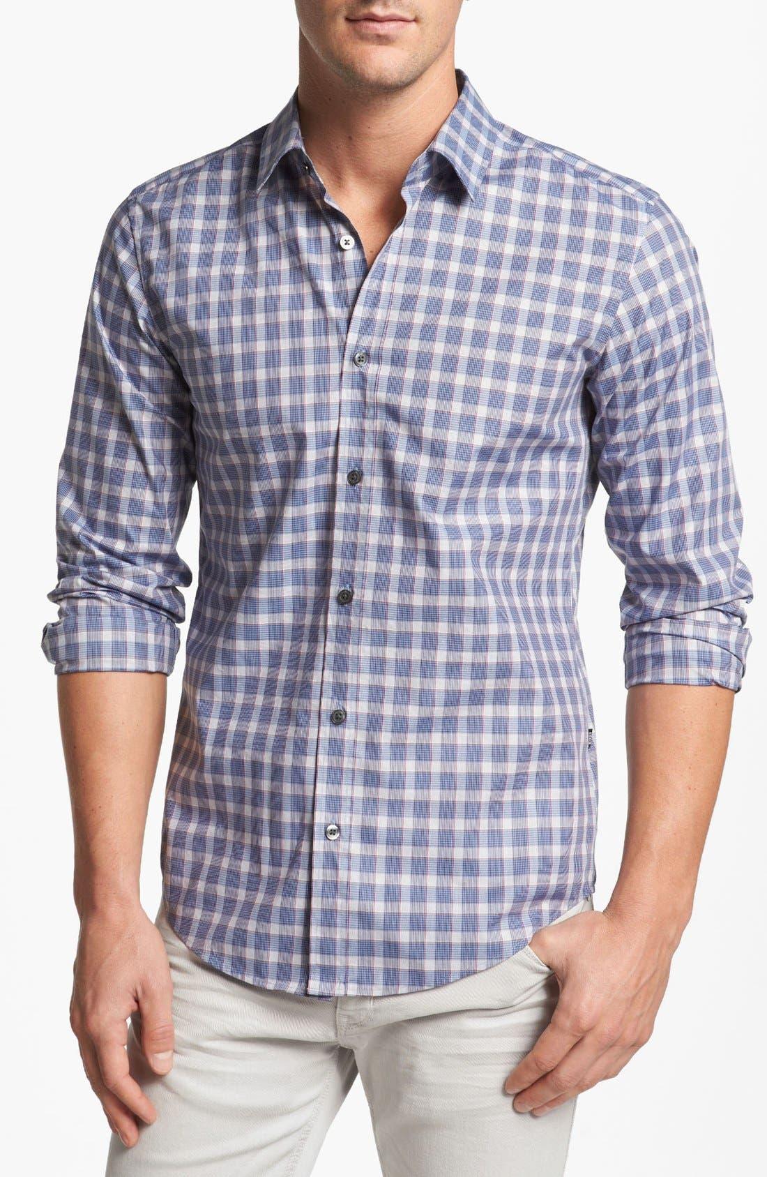 Alternate Image 1 Selected - BOSS HUGO BOSS 'Ronny' Slim Fit Sport Shirt