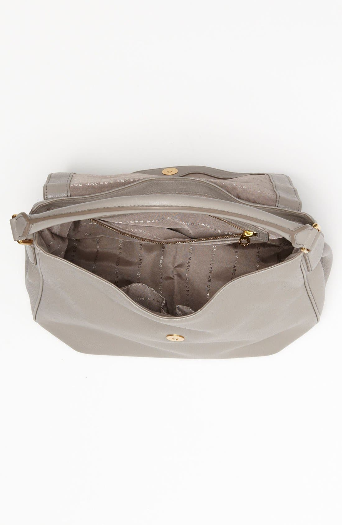 Alternate Image 4  - MARC BY MARC JACOBS Leather Flap Hobo