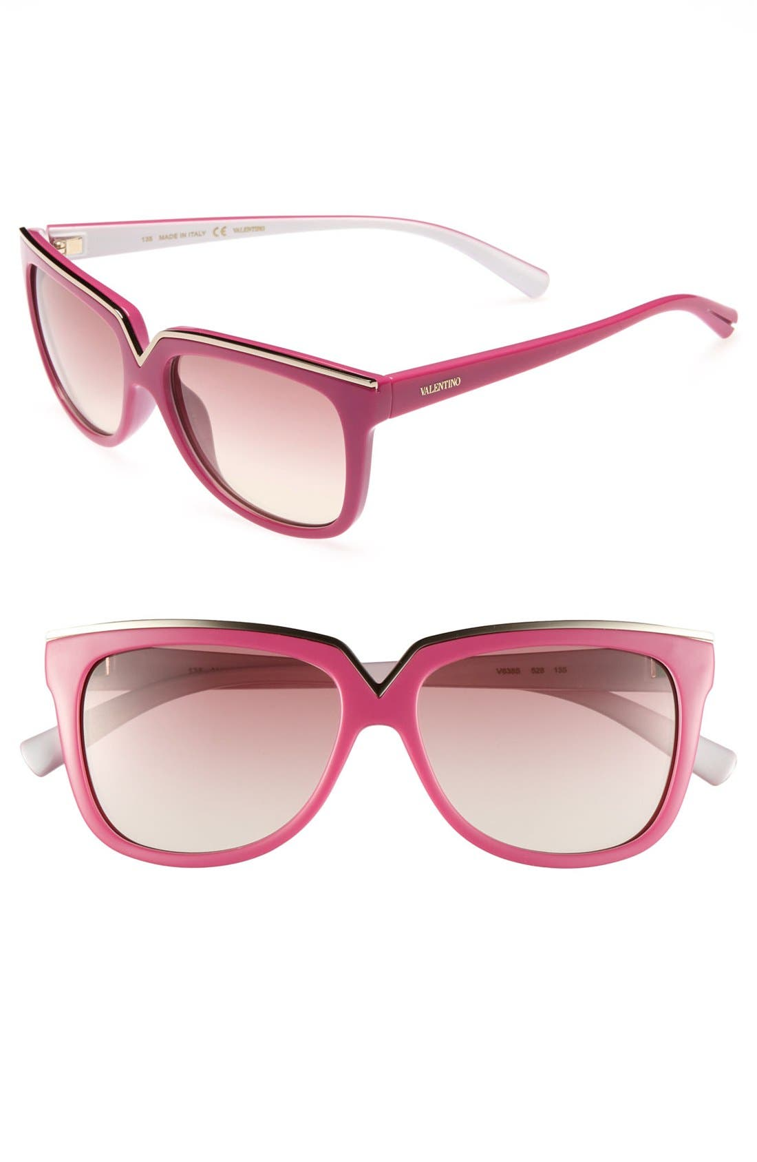 Alternate Image 1 Selected - Valentino 53mm Sunglasses