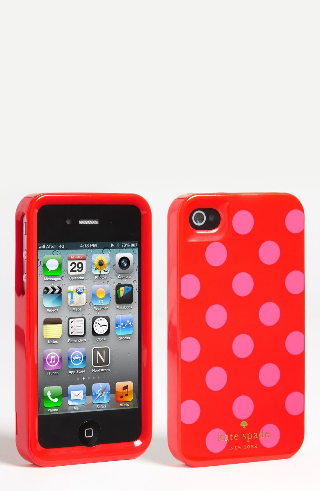 Alternate Image 1 Selected - kate spade new york rigid iPhone 4 & 4S case
