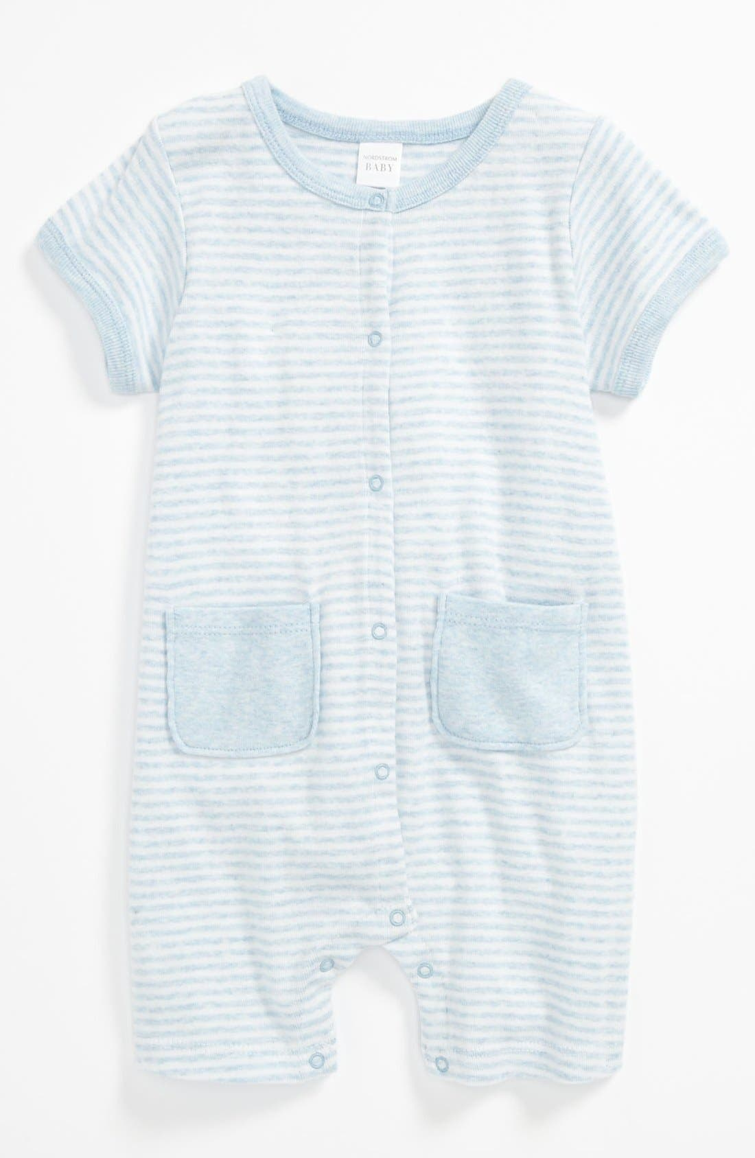 Main Image - Nordstrom Baby 'Welcome Home' Romper (Baby)