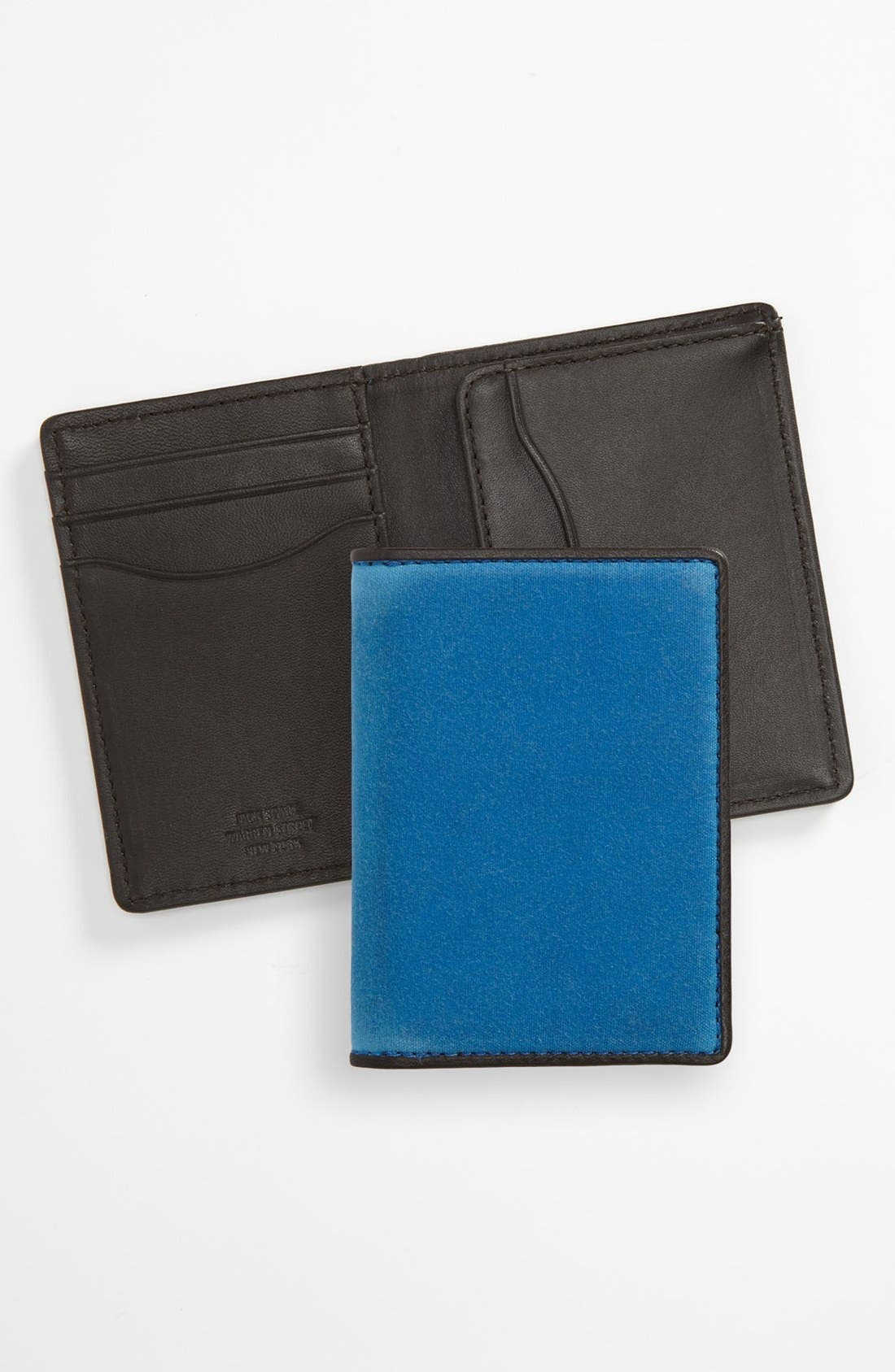 Alternate Image 1 Selected - Jack Spade 'Waxwear' Vertical Wallet