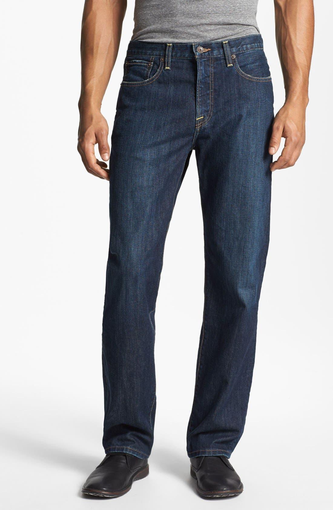 Main Image - Lucky Brand '329 Classic' Straight Leg Jeans (Murrell)