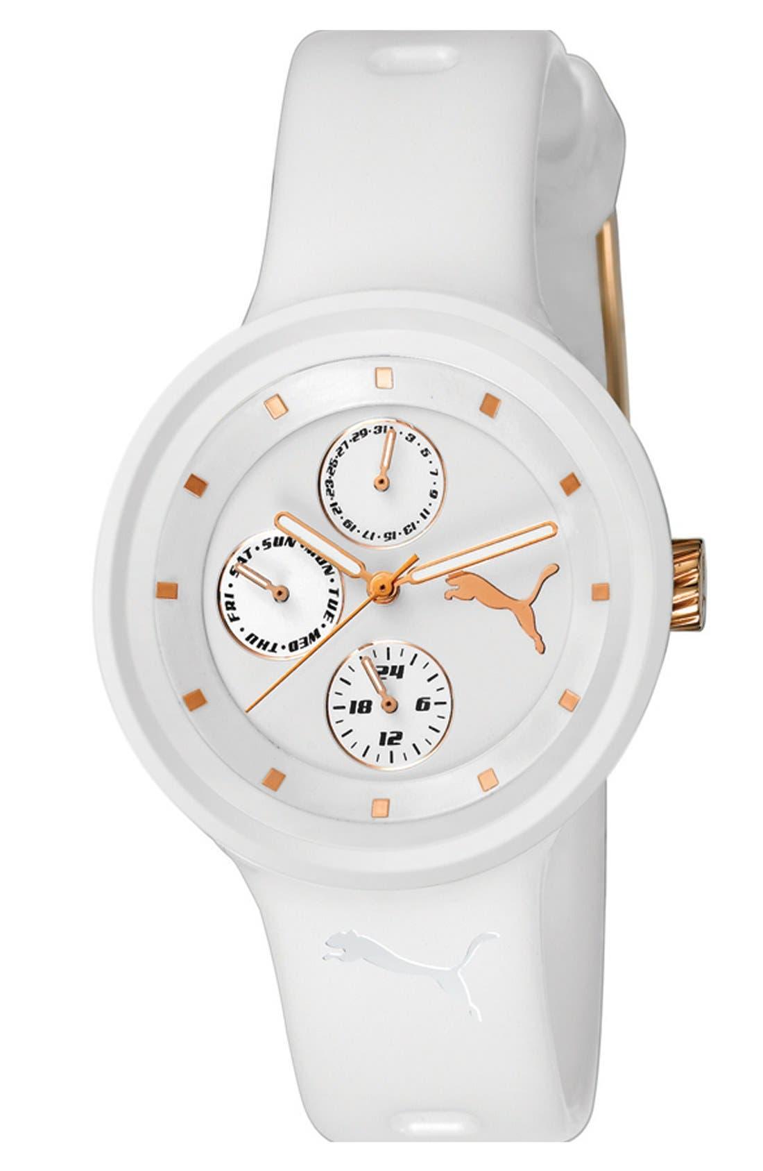 Alternate Image 1 Selected - PUMA 'Slick' Multifunction Watch, 38mm