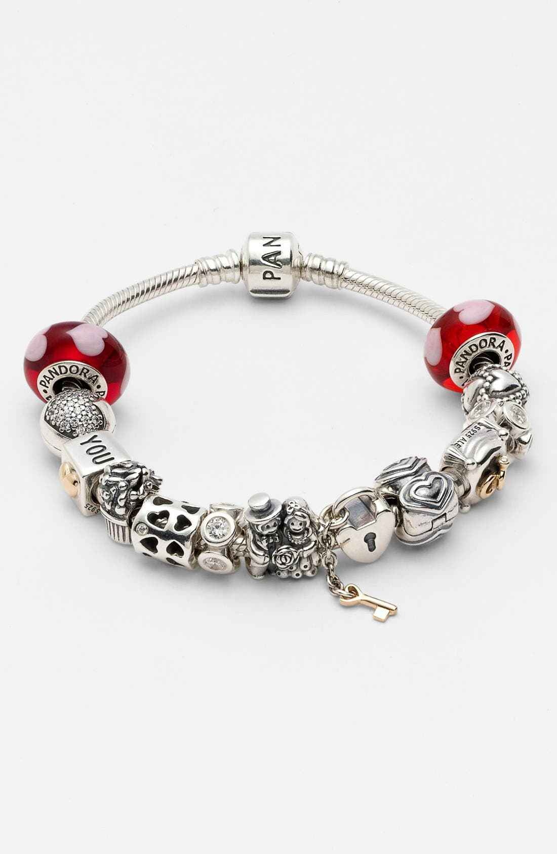 Alternate Image 2  - PANDORA 'Love' Murano Glass Charm