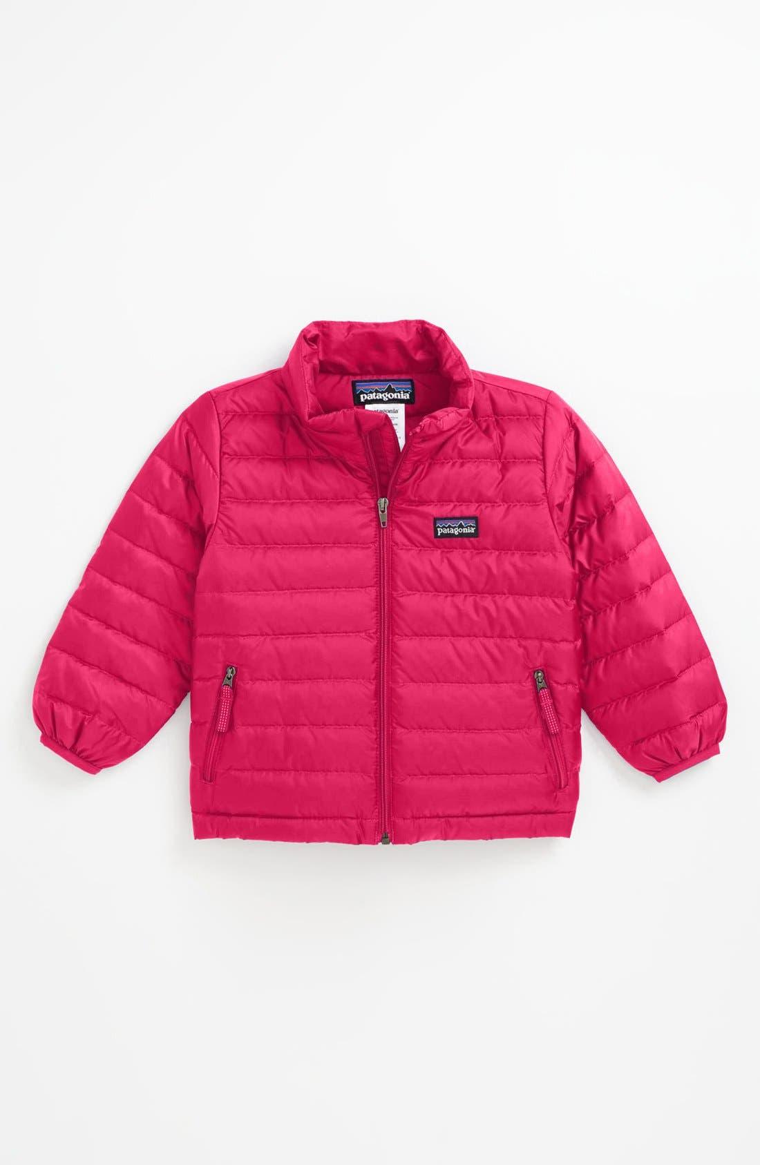 Alternate Image 1 Selected - Patagonia Down Sweater Jacket (Toddler Girls)