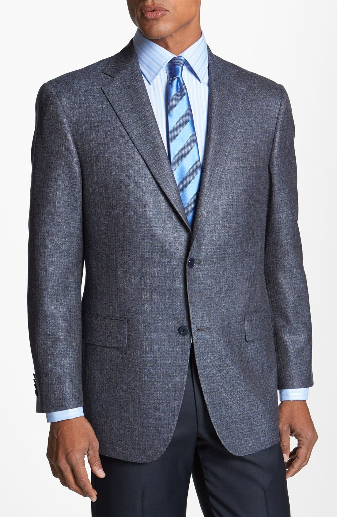 Main Image - Hart Schaffner Marx Silk Blend Sportcoat