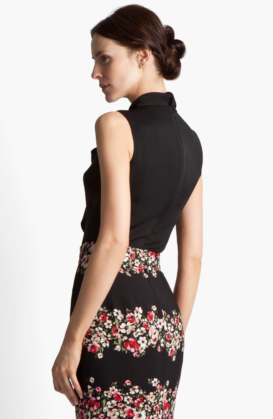 Alternate Image 2  - Dolce&Gabbana Stretch Georgette Blouse