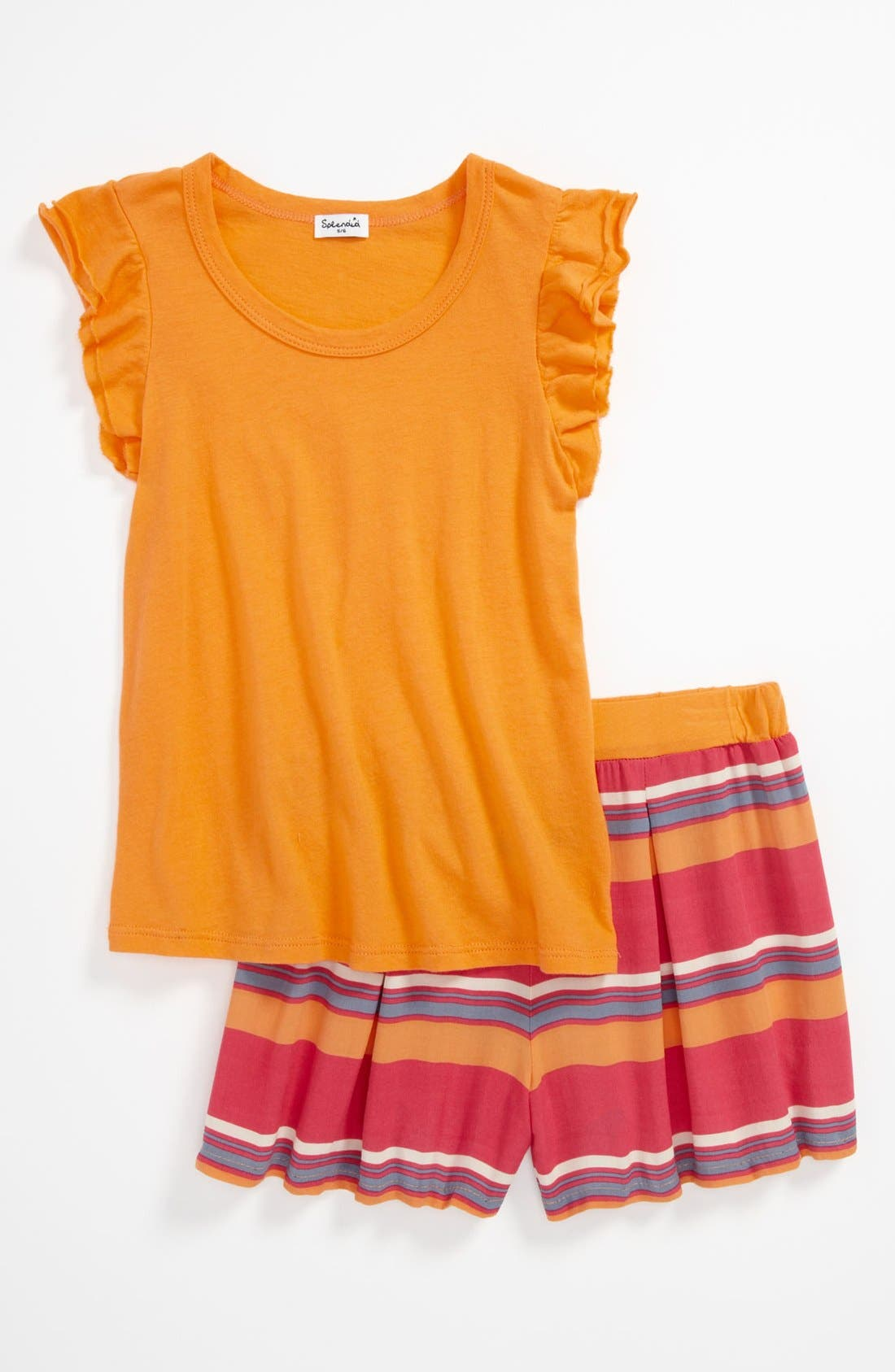 Main Image - Splendid Tee & Shorts (Little Girls)