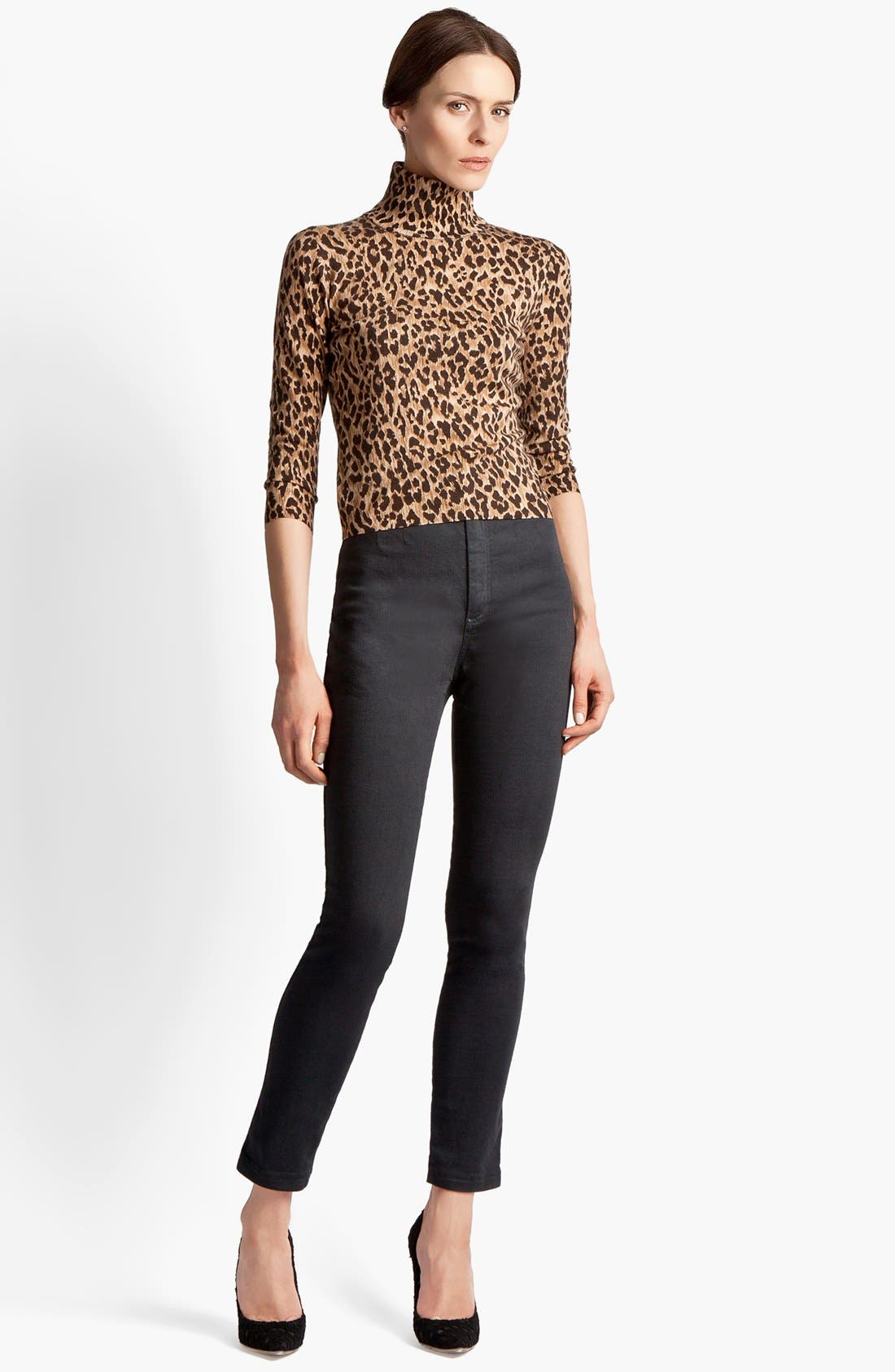 Alternate Image 1 Selected - Dolce&Gabbana Extra Fine Wool Turtleneck