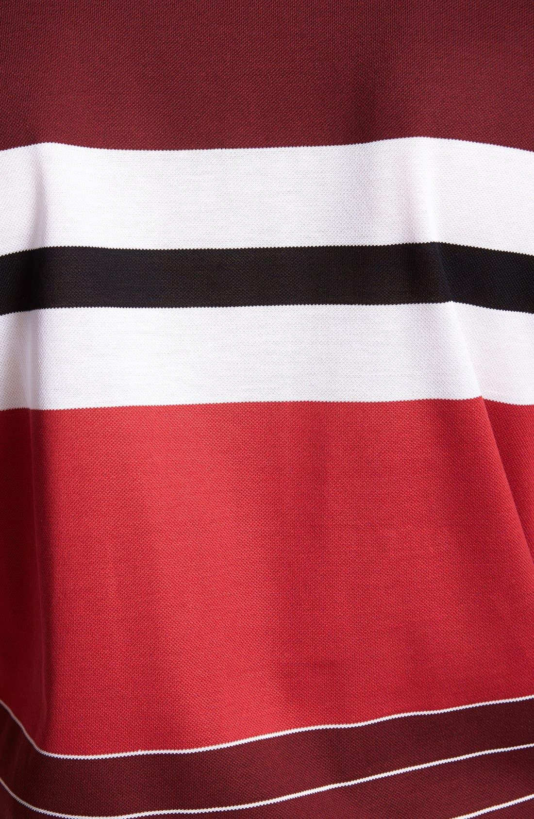 Alternate Image 3  - Salvatore Ferragamo Stripe Polo