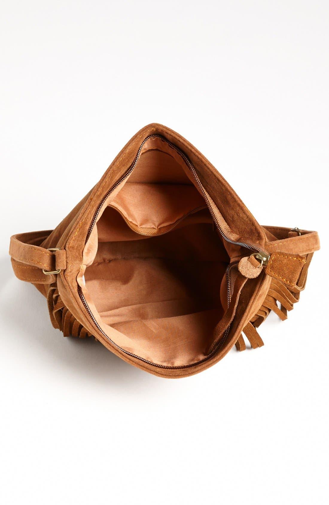 Alternate Image 3  - BP. Studded Fringe Crossbody Bag