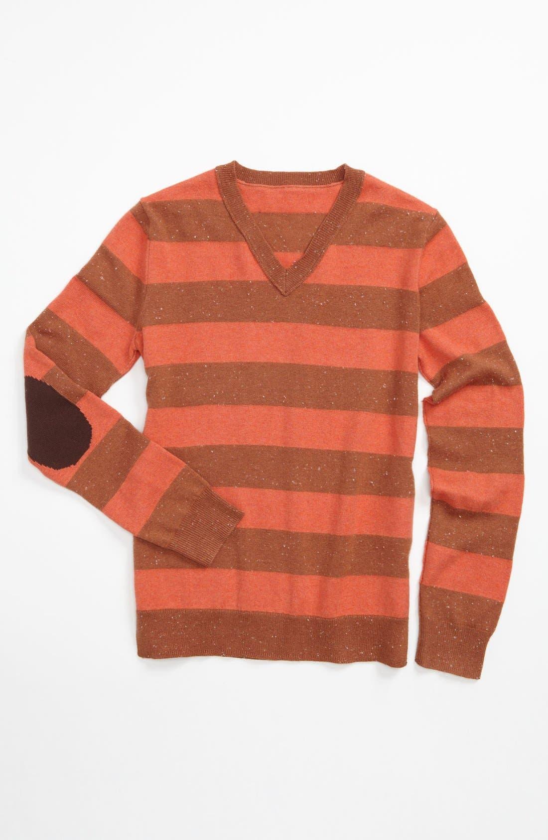 Main Image - Tucker + Tate 'Janie' Stripe Sweater (Big Girls)