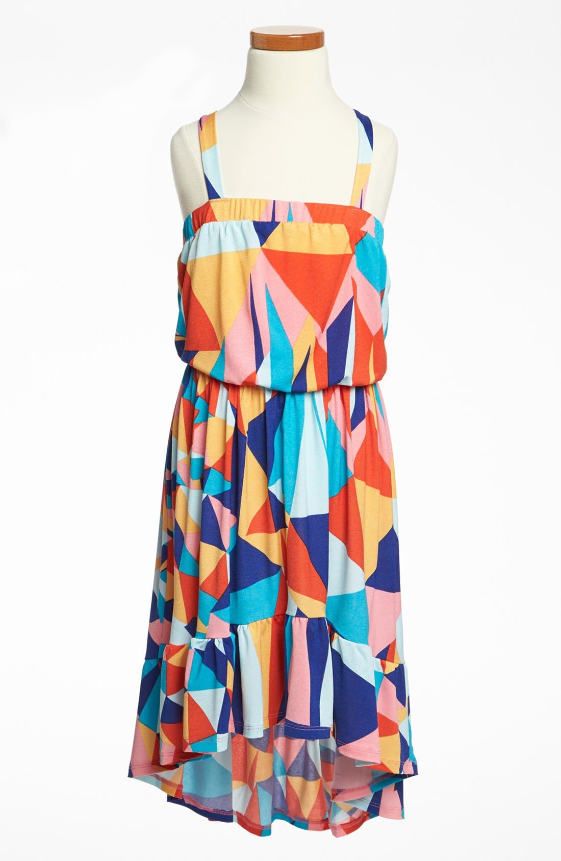 Main Image - Mia Chica High/Low Dress (Big Girls)