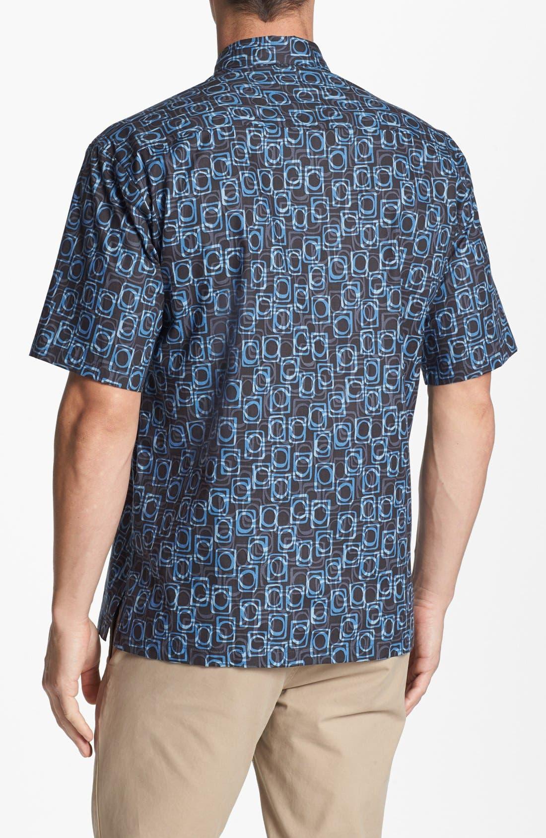 Alternate Image 2  - Tori Richard 'Eclipse' Cotton Lawn Campshirt