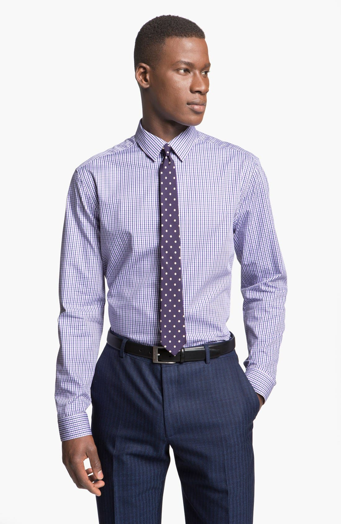 Main Image - Paul Smith London Slim Fit Check Dress Shirt