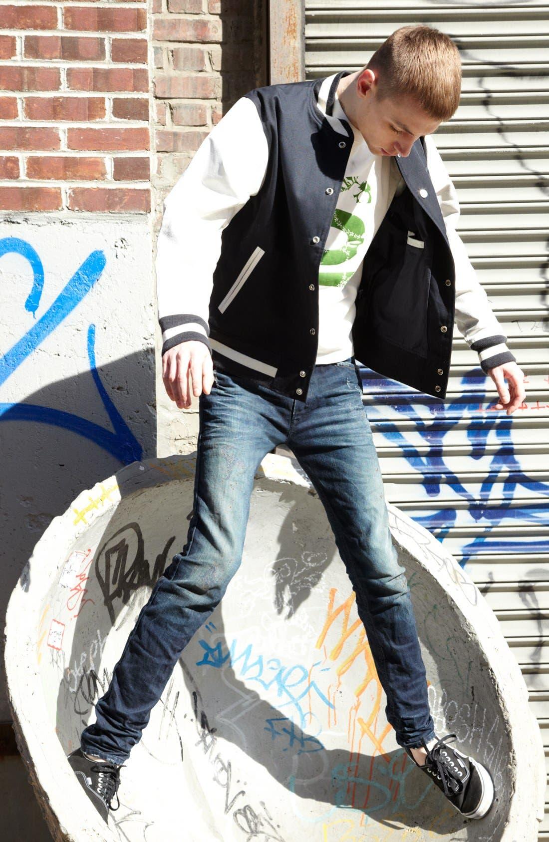 Alternate Image 5  - DIESEL® 'Darron' Slim Tapered Leg Jeans (0809V)