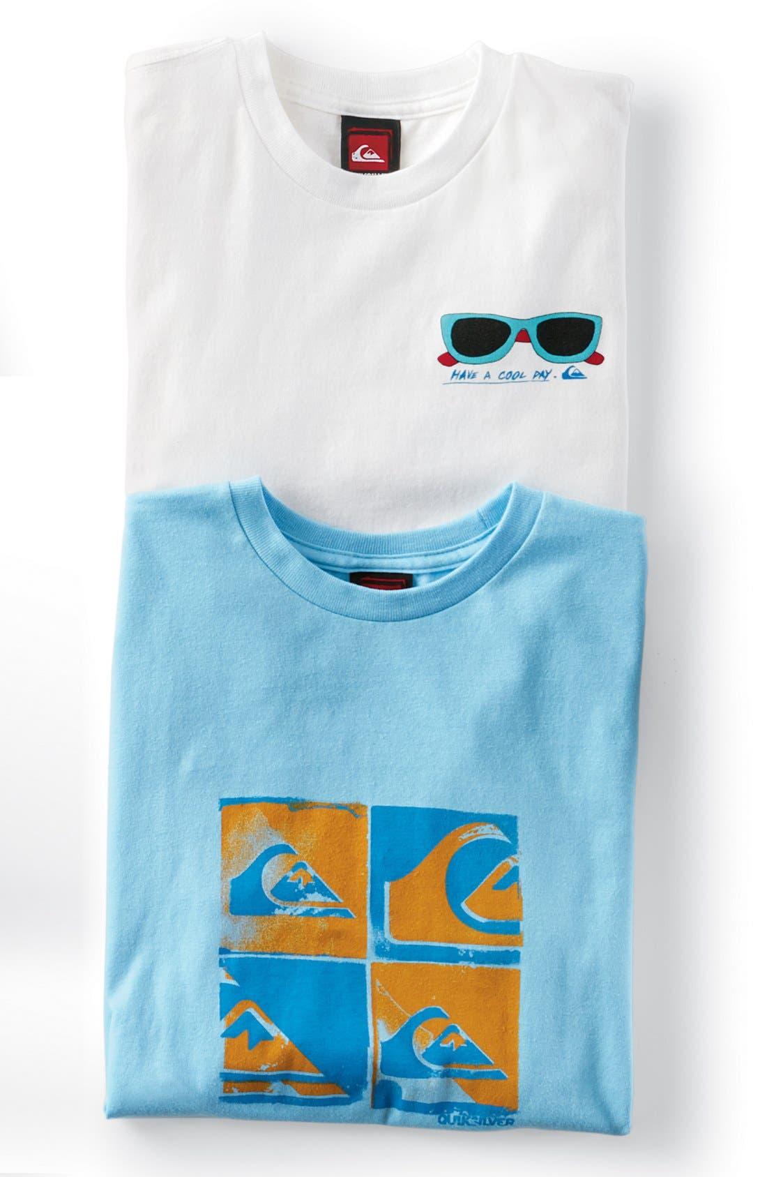 Alternate Image 2  - Quiksilver 'Sunnys' T-Shirt (Big Boys)