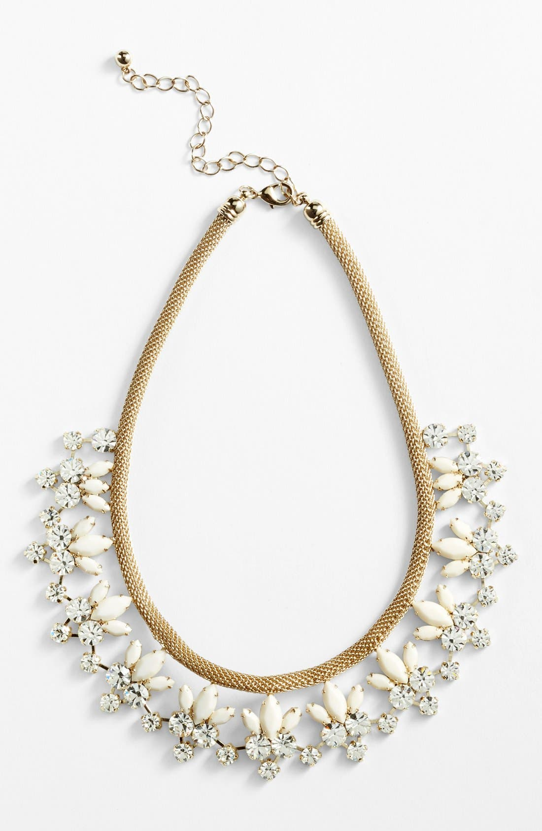 Main Image - Natasha Couture Floral Statement Necklace