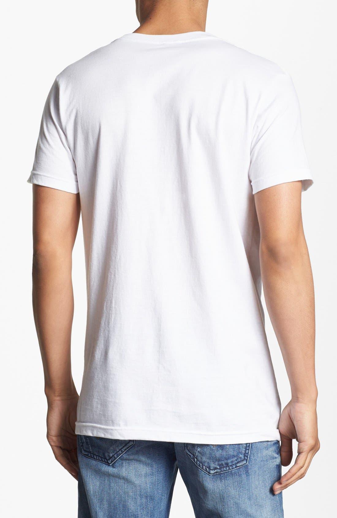 Alternate Image 2  - Bowery Supply 'Mustache Girl' Graphic T-Shirt