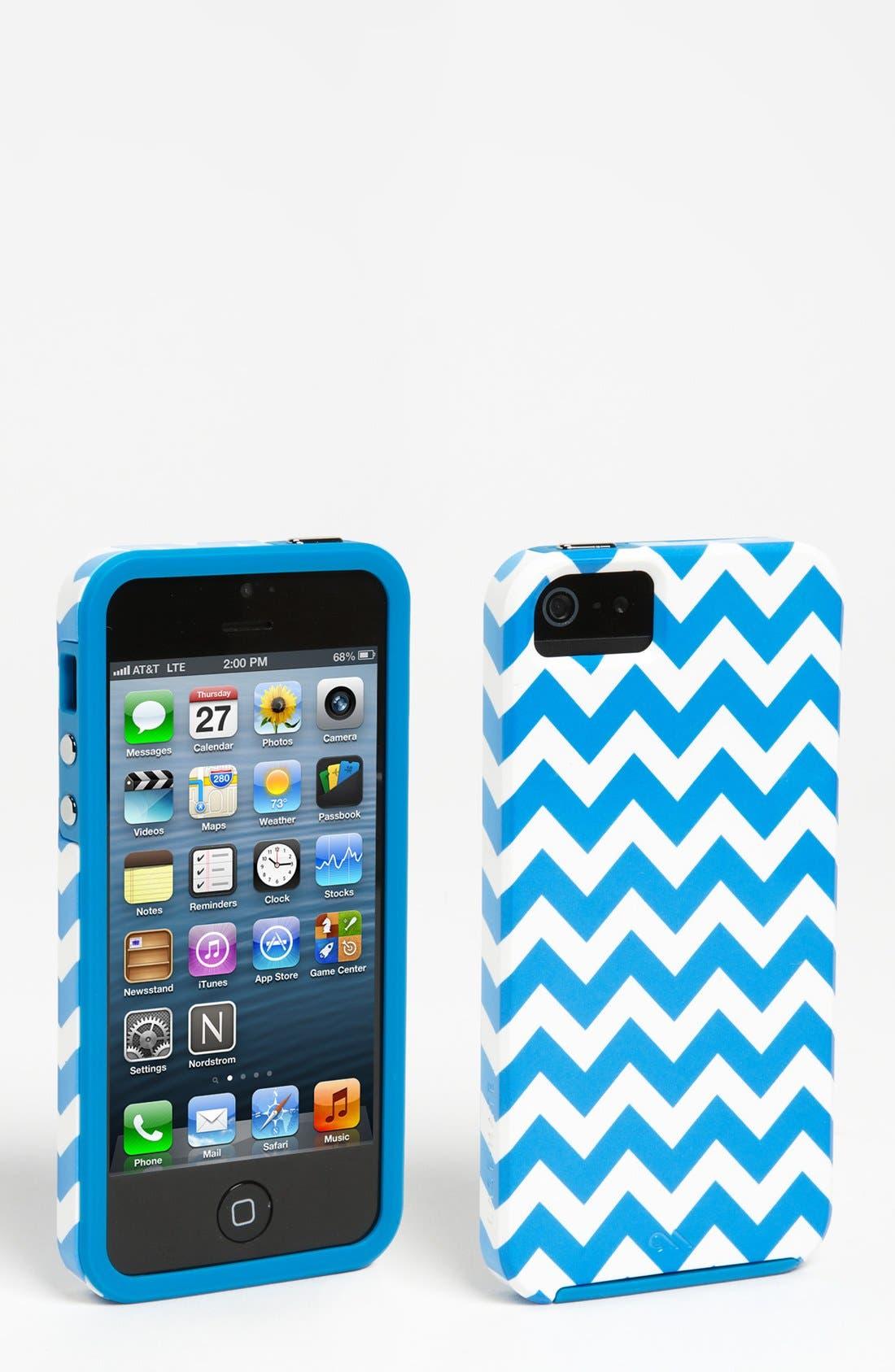 Alternate Image 1 Selected - Case-Mate® 'Chevron' iPhone 5 Case