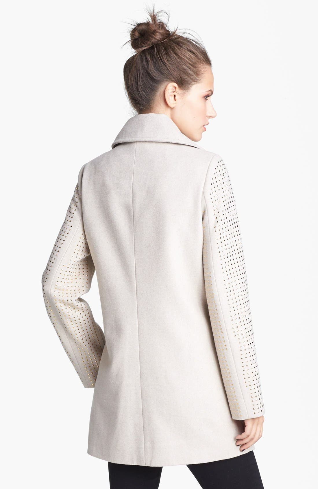 Alternate Image 4  - Jou Jou Studded Coat (Juniors)