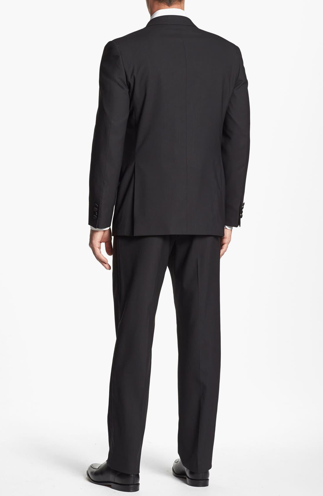 Alternate Image 3  - Joseph Abboud 'Profile Hybrid' Trim Fit Wool Tuxedo (Online Only)
