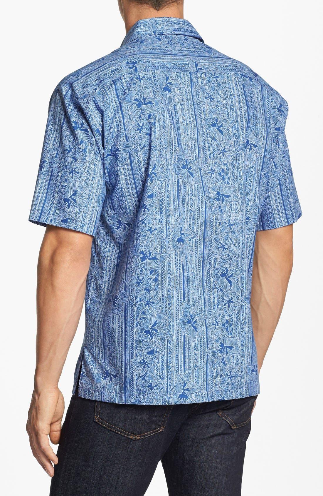 Alternate Image 2  - Tori Richard 'Wall Flower' Short Sleeve Sport Shirt