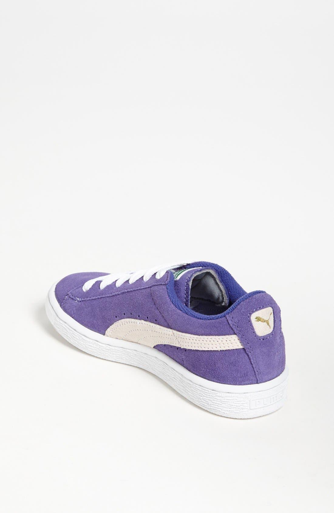 Alternate Image 2  - PUMA 'Jr.' Suede Sneaker (Toddler, Little Kid & Big Kid)